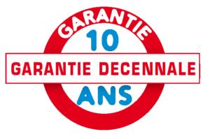 10 ans de garantie (Garantie Décennale)
