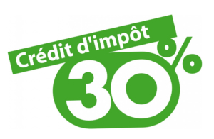 Crédit d'impôt 30%