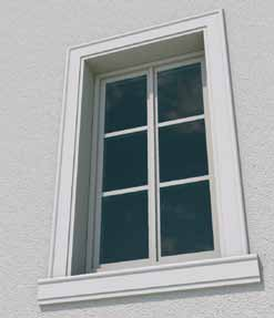 Les encadrements de fenêtre